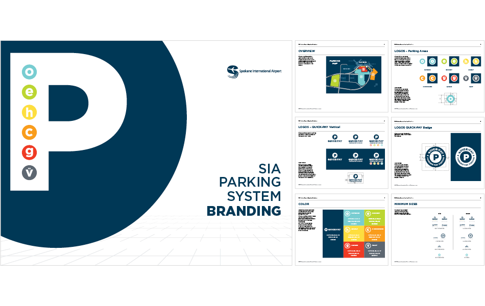 Parking and Branding Content Marketing for an Airport in the Pacific Northwest