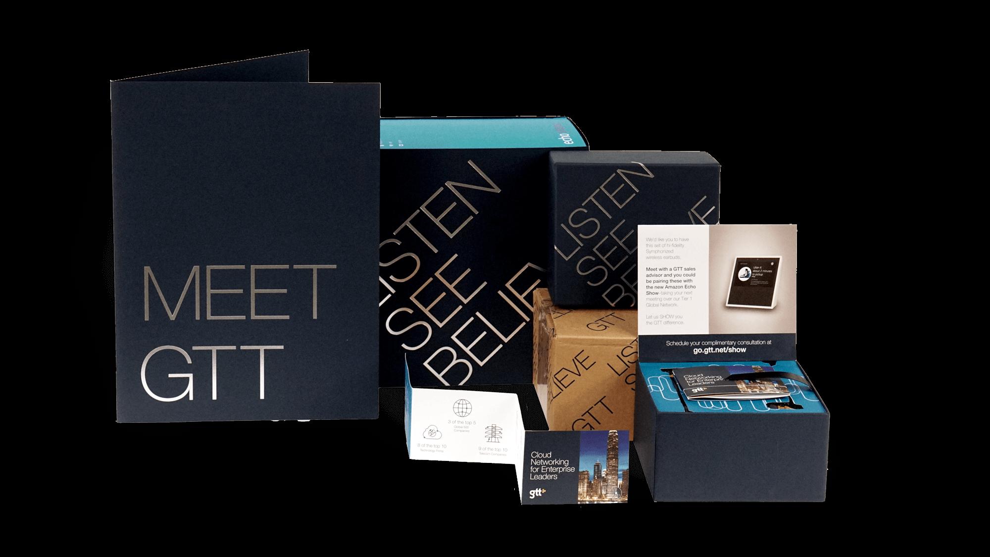 GTT: Account-Based Marketing & B2B Content Program