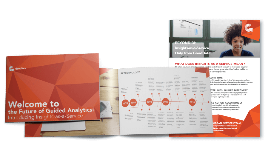 Product brief and white paper examples for GoodData