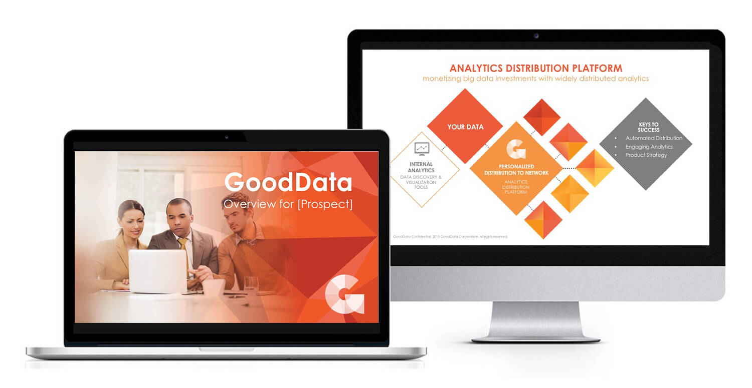First meeting sales deck example for GoodData