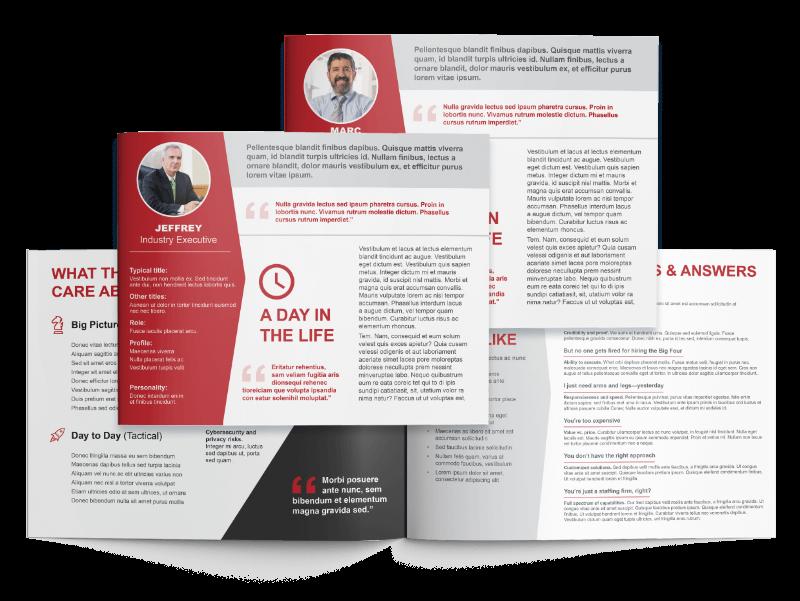 RGP Buyer Personas & Messaging Example