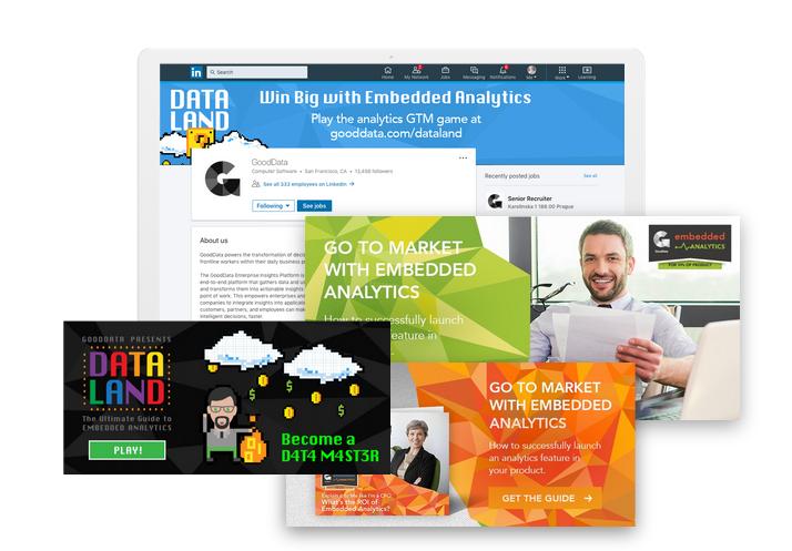 GoodData content marketing