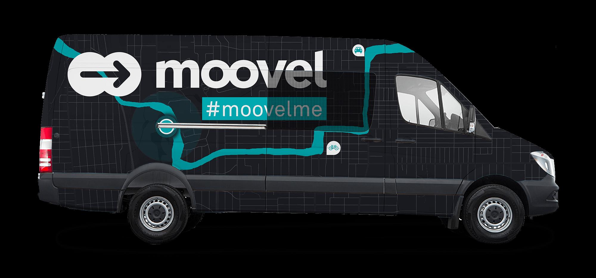 moovel van wrap using #moovelme hashtag