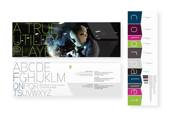 PMG developed branding for CDS with subtle design choices that enhance your marketing collateral and precipitate results