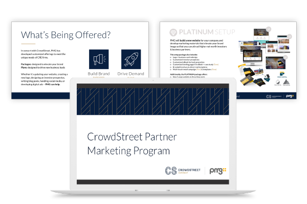 CrowdStreet Partner Marketing Program Strategy with pricing tiers and program analysis