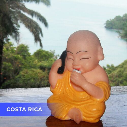 Buddha travels to Costa Rica