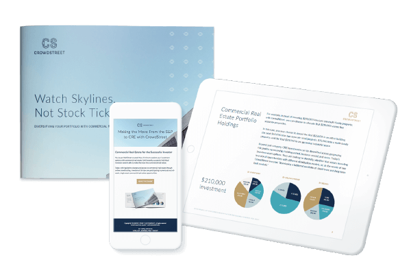 Example of a creative, account-based marketing campaign to help the CRE SaaS leader launch its new brand across three unique sub-audiences: Sponsors, Investors and CRE Influencers using landing page and ebooks